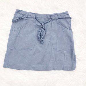 LOFT Lounge Cornflower Blue Tie Skirt